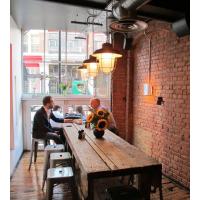 厂家直销高档、水泥仿木家具、仿古典家具、仿沉船木桌椅