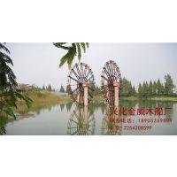 供应防腐木水车 景观水车 江南水车 防腐木景观