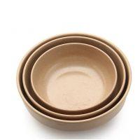 环保稻壳纤维餐具韩式碗平底泡菜碗套餐汤碗面碗创意大中小i碗