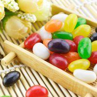 时尚DIY婚庆糖果 散装喜糖批发 多色多味彩虹糖 水果软糖休闲食品