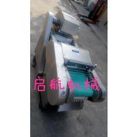 启航牌660型切菜机 全不锈钢切丝机 商用萝卜切丁机