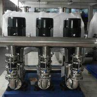 西安气囊式供水设备 西安不锈钢无负压变频二次变频供水设备 RJ-S133