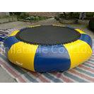 0.6mm PVC Tarpaulin Funny Inflatable Water Toys Trampoline , Summer must-have