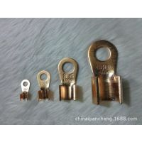 铜开口鼻OT-100A 开口线鼻子 铜端头 铜线耳 冷压接线端子
