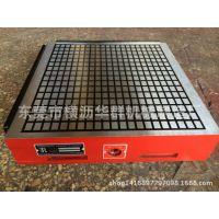 价格优惠 CNC强力永磁磁盘便宜 电脑锣磨床磁盘 方格 铣床200X400
