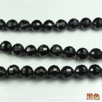 饰品批发 96切面地球珠 发饰diy材料 人造水晶珠子 串珠配件