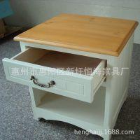 家具厂专业承接订做装修工程别墅家具住宅家具田园风格床头柜小柜