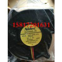 NIDEC正品D07F-24SG 01A双滚珠24V 0.17A 7530 7CM 涡轮风扇现货
