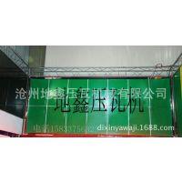 厂家直销广告牌设备地鑫大方板彩钢压瓦机设备
