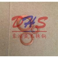佛山专业紫铜密封垫片 国标铜垫圈 紫铜介子 东鸿盛铜平垫 不锈钢垫片厂