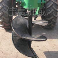 拖拉机挖坑机厂家直销 小型手提植树地钻 树坑机