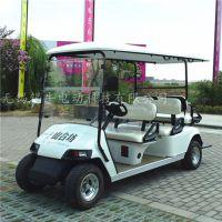 邳州四轮电动高尔夫球车,六座景区观光车,工厂参观接送车