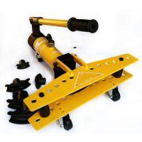 弯管器2寸1寸3寸手动巨力 铁管铜管不锈钢弯管器无缝管液压弯管器