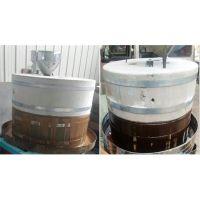 小麦面粉电动石磨机 小磨坊面粉设备 振德牌多功能石磨