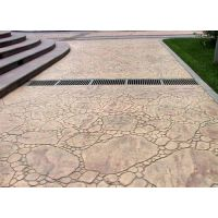 永不褪色彩色艺术印花地坪/混凝土压模地坪系列