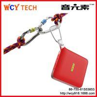 2015新款私模插卡USB蓝牙音箱带话筒麦克风电脑创意时尚智能穿戴