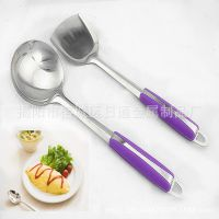 厨房用品 不锈钢餐具厨具无磁1.2厘单线勺铲 电器赠品