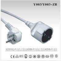 欧规VDE电源线 Y003/Y003-ZB生产厂家-欧规VDE电源线 Y003/Y003-ZB中国生