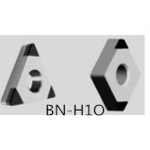 精车HRC55以上淬硬钢刀片选择华菱BN-H10、BN-H20牌号精度高