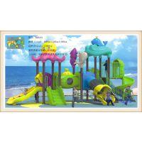 儿童运动户外设备 幼儿园游艺设施 多功能组合 游乐园滑梯系列 万历全塑滑梯系列