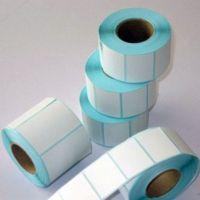 东莞森盛 彩色空白不干胶标签打印纸卷格兰辛底标签贴纸批发定制