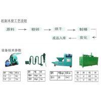 全自动木炭机、利冠机械(认证商家)、全自动木炭机生产流程