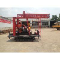 徐州中地钻探机定制GXY-200B型 液压钻机履带式改装 岩心钻机