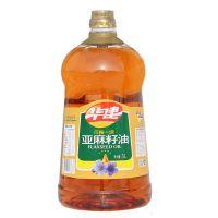华建诚鑫压榨一级5L亚麻籽油 山西特产 植物油 富含a-亚麻酸 厂家批发