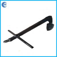 Single fluke anchor单爪锚