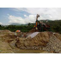 莫桑比克定制的宏川HCXJ-100淘金设备处理砂金矿100t/h
