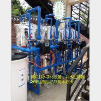 桂林井水有异味怎么办?就选晨兴立式5T/H活性炭过滤器 物美价廉