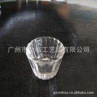 供应玻璃烛台 装蜡烛玻璃杯 高硼硅玻璃器皿