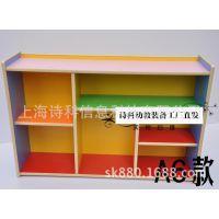 幼儿园玩具柜特价木制柜收纳架储物柜书包柜家用柜置物柜实木柜子