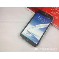 供应三星galaxy note2  N7100手机模型 仿原装 黑色三星N7100模型