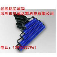 厂家直销硅胶粘尘滚筒  硅胶粘尘滚轮规格齐全质量稳定价格优势