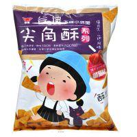 进口休闲食品批发 台湾谷迪西红柿味尖角酥(膨化食品)72g*20袋