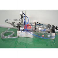 广州南洋企业半自动液体灌装机 手动气动卧式灌装机