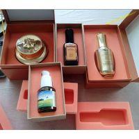 首饰盒海绵植绒内盒定制 礼品盒EVA植绒内衬盒加工 PU海绵包装盒图片