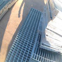 镀锌格栅板重量 室外楼梯踏步板 雨水井盖板