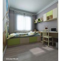 现代简约诗尼曼家居儿童房设计 定制榻榻米 _家居100网