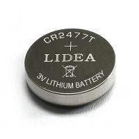 CR2477纽扣锂-二氧化锰电池容量高达1100mah电池生产厂家直供
