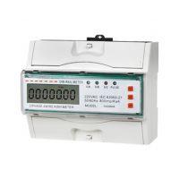 DTS866型DIN导轨式安装三相三线电子式有功电能表