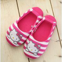 韩国正品HEOLL KITTY凯蒂儿童室内用舒适家居拖鞋