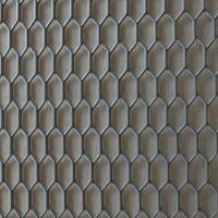 现货热销 铝合金菱形网 拉伸菱形铝板网 8m矿用菱形网