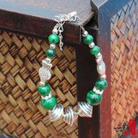 新款绿松石手链民族特色饰品 藏式手链时尚民族风女士休闲潮流