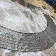 泰州耀荣 供应不锈钢排水沟钢格板 圆形格栅 质量保证