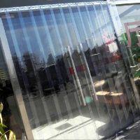 软门帘透明门帘夏冬季防挡风隔热空调防蚊门帘软玻璃门帘厨房隔断