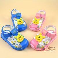 2015夏季新款韩国品牌儿童鞋子凉鞋批发小童学步宝宝鞋卡通软底