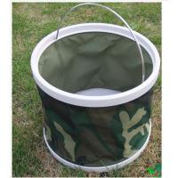 供应加厚牛津布 HL-623DG迷彩洗车折叠水桶 适用于DIY洗车,野营,钓鱼,自驾游等各种户外活动
