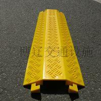 博辽 PVC大孔线槽板 电缆护线板 橡胶过桥板 橡胶电缆过线板